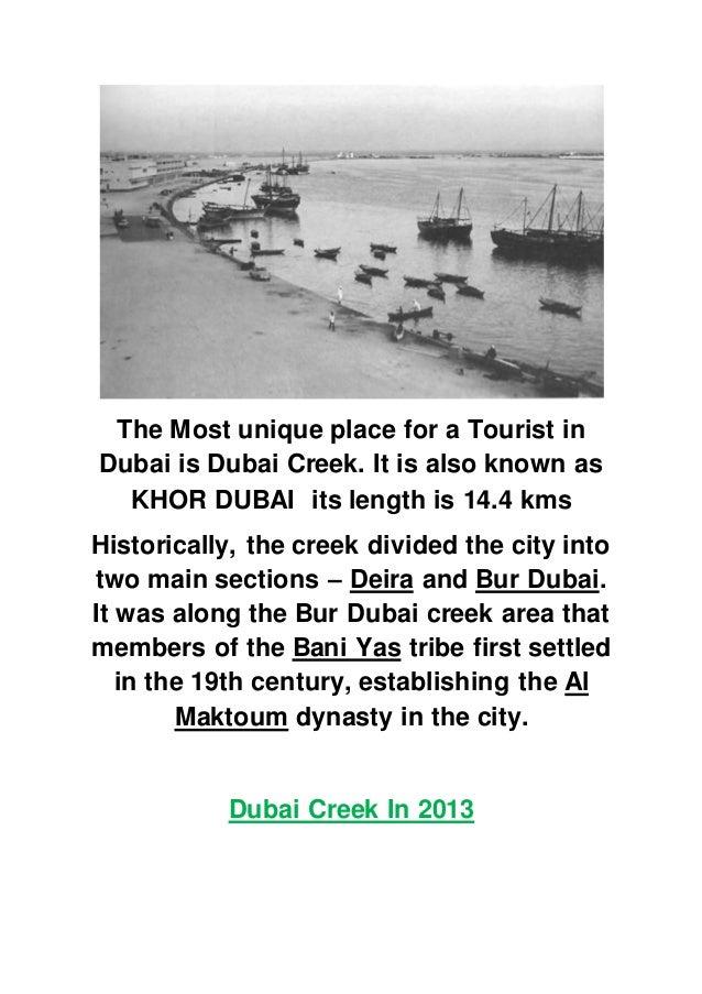 Dubai Creek In 1964 4