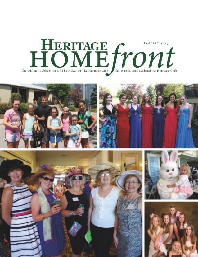homefront                                                                                                    January 201 3...