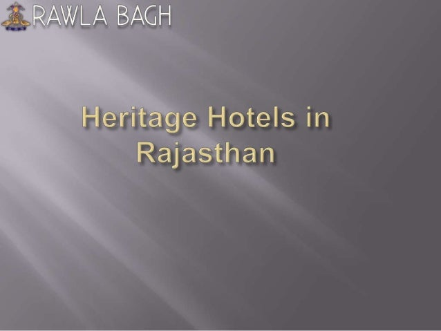  Rawla Bagh is the Heritage Hotel in Rajasthan that is built by Thakur Chattar Singh Ji in the year 1876.  It's a paradi...