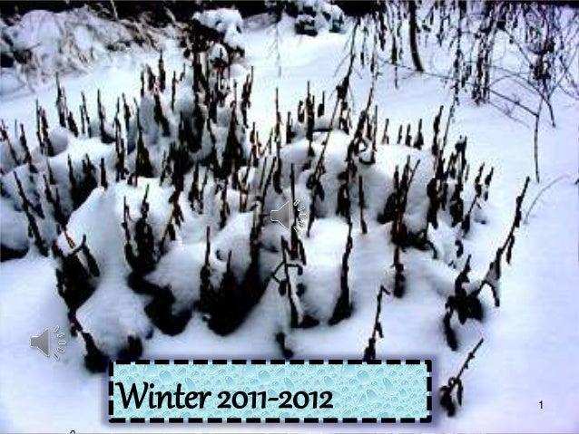 1Winter 2011-2012