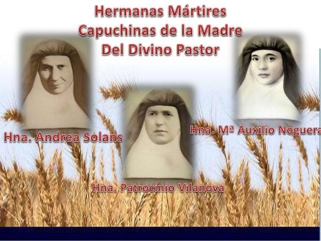 Resultado de imagen de hermanas martires