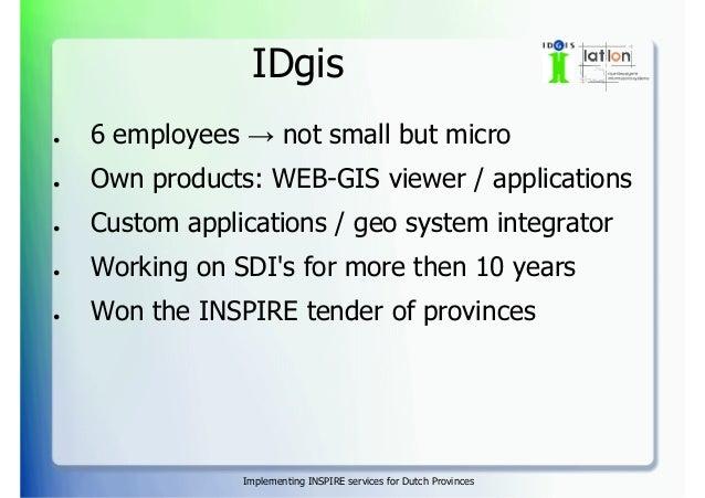 Implementing INSPIRE services for Dutch provinces Slide 3