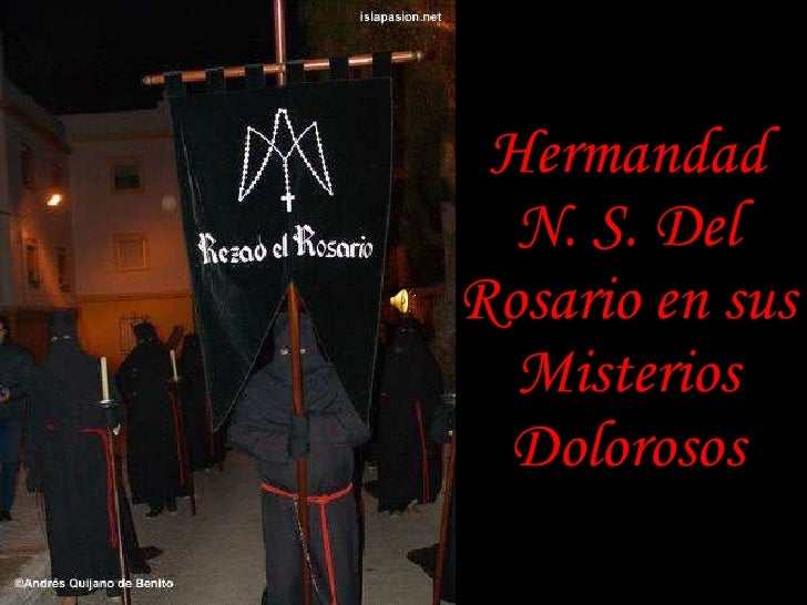 Hermandad N. S. Del Rosario en sus Misterios Dolorosos