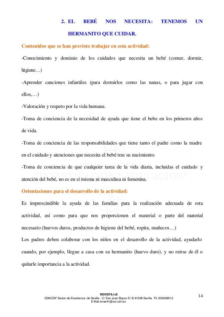 2. EL           BEBÉ            NOS           NECESITA:                  TENEMOS     UN                             HERMAN...
