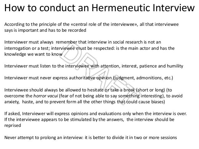 hermeneutics research paper An advanced course in hermeneutics including a study of the history of interpretation, both writers of research papers, theses, and dissertations.