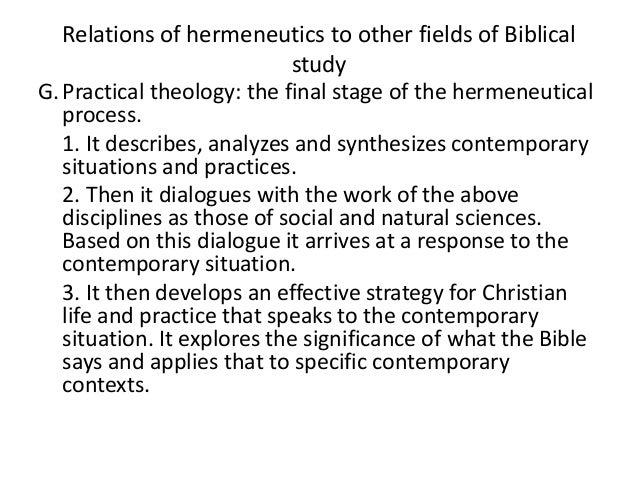 in place of a hermeneutics we While researchers continue to place a strong emphasis on these methods, the use  the main focus for husserl was the study of phenomena as they appeared .