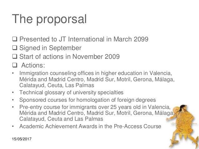 HERMES: University Integration Project for Immigrants Slide 2
