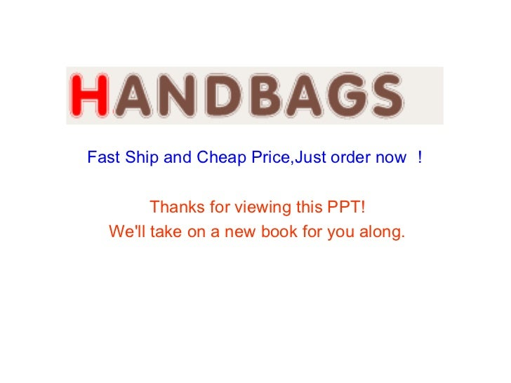 Fast Ship and Cheap Price,Just order now !        Thanks for viewing this PPT!  Well take on a new book for you along.