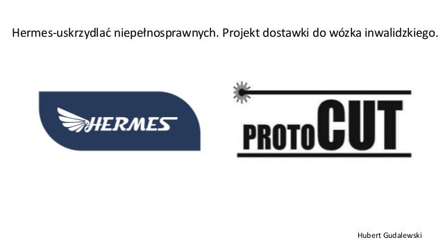 Hermes-uskrzydlać niepełnosprawnych. Projekt dostawki do wózka inwalidzkiego. Hubert Gudalewski