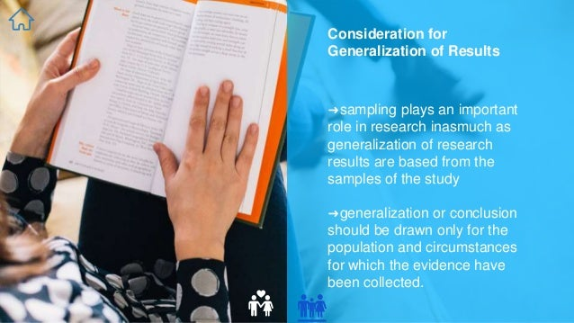 Generalizing experimental study results to target populations