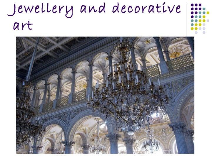 Jewellery and decorative art
