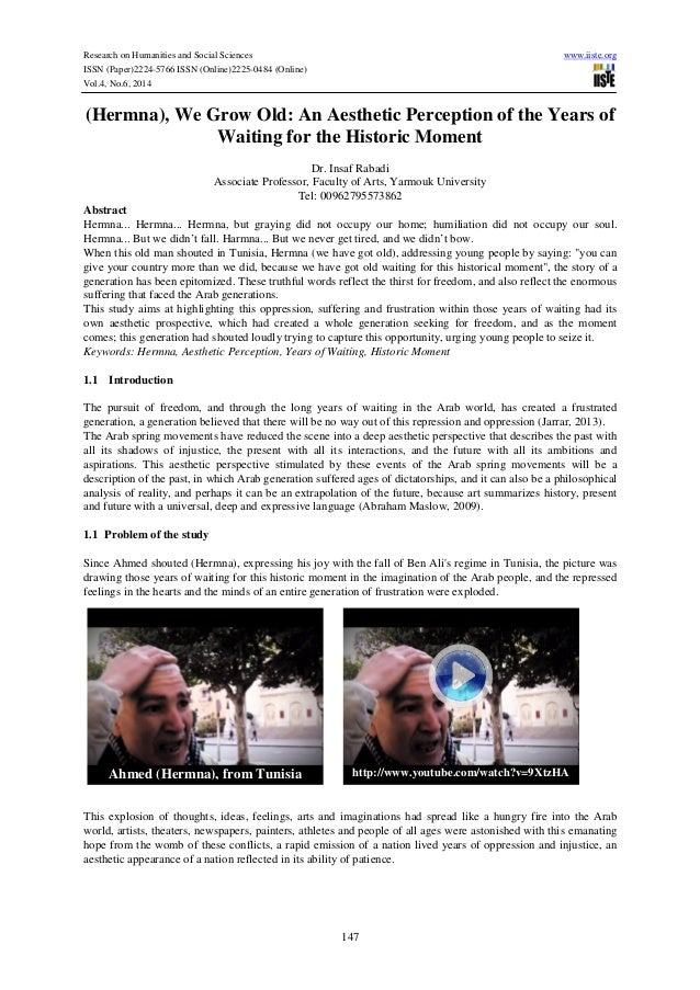 Research on Humanities and Social Sciences www.iiste.org ISSN (Paper)2224-5766 ISSN (Online)2225-0484 (Online) Vol.4, No.6...