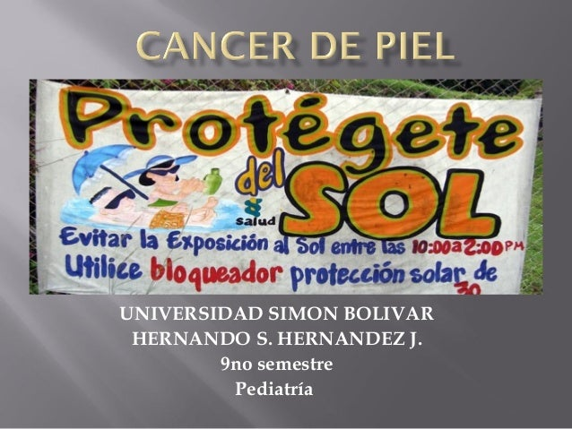 UNIVERSIDAD SIMON BOLIVAR HERNANDO S. HERNANDEZ J.        9no semestre         Pediatría