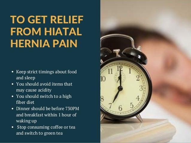 Medication for Hiatus Hernia