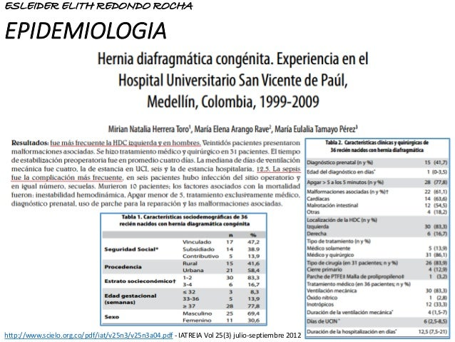 EPIDEMIOLOGIA http://www.scielo.org.co/pdf/iat/v25n3/v25n3a04.pdf - IATREIA Vol 25(3) julio-septiembre 2012 ESLEIDER ELITH...
