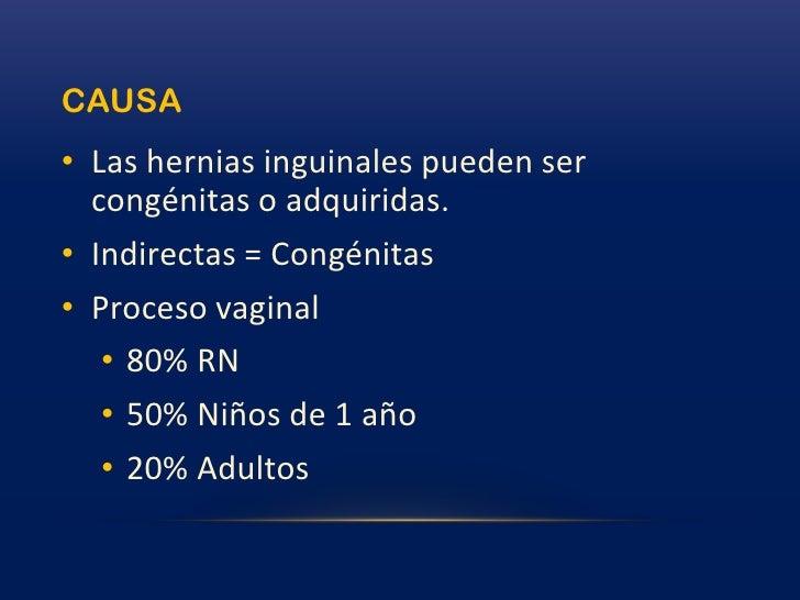 Hernias FEMORALES (crurales)<br />