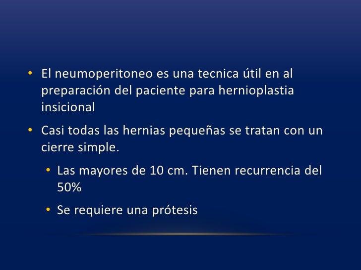 Hernioplastia inguinal preperitoneal<br />
