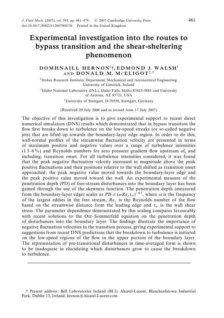 J. Fluid Mech. (2007), vol. 591, pp. 461–479. c 2007 Cambridge University Press                 461doi:10.1017/S0022112007...
