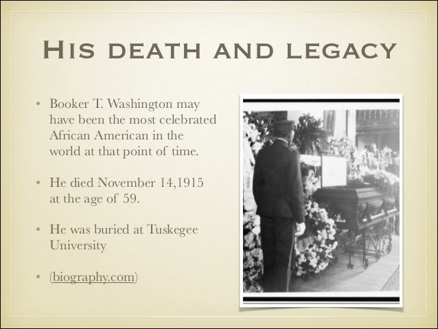 the life and accomplishments of booker t washington This biography on the life of booker t washington explores his life starting from his childhood to his legacy.