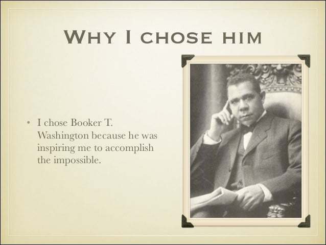 a biography of booker t washington history essay Booker t washington and web dubois had very different views on african americans and whether they should learn a trade or go to school and get a education in the books these two men were very influential towards african americans in today's society.