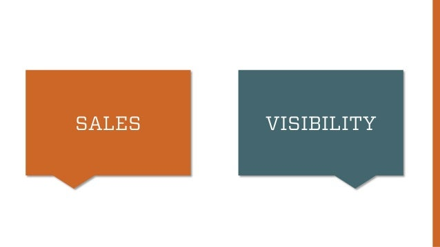 SALES VISIBILITY