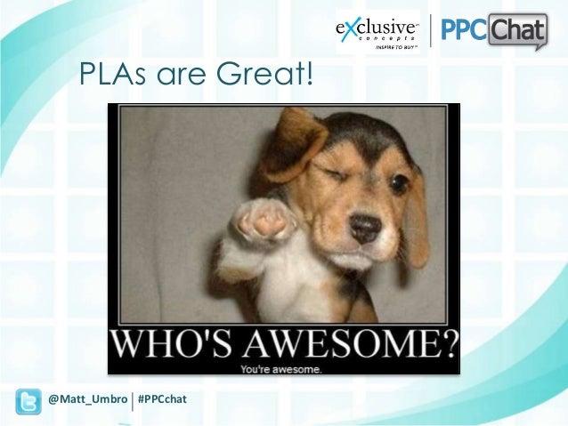 Generate Winning PLA Results Slide 3