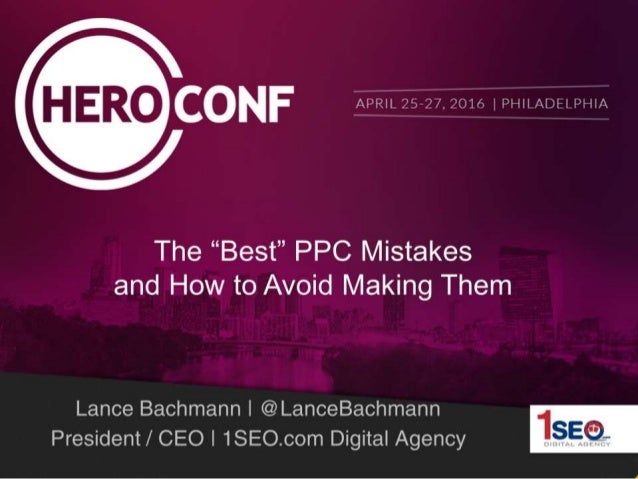 How to Avoid Making PPC Mistakes