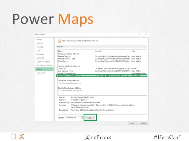 @hoffman8 #HeroConf Power Maps