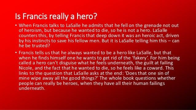 Is francis cassavant a hero