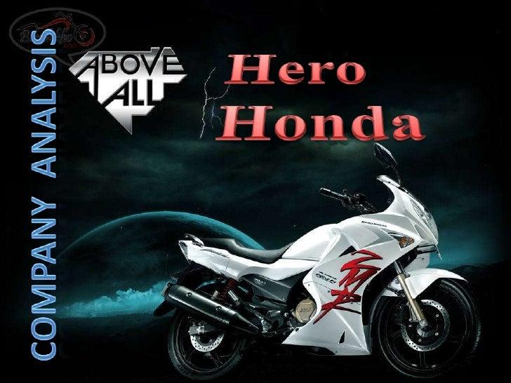 Hero MotoCorp Limited SWOT Analysis