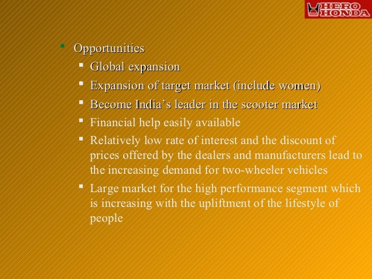 swot for honda Honda corporation swot analysis 2 honda company is a corporation 2nd largest carmaker in japan, was founded by soichiro honda on 24/09/1948 initially the company only produced motorcycle, and then expanded to produce both cars and motorcycles.