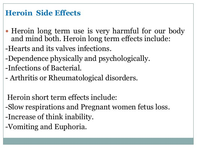 Long term side effects of viagra use