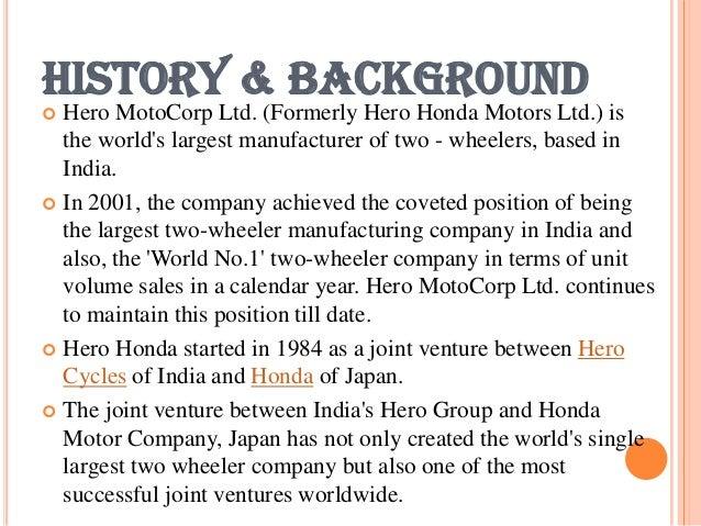 Hero Motocorp Ltd Full PPT