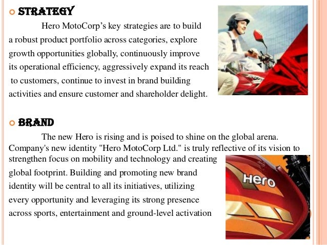 Hero motocorp ltd full PPT