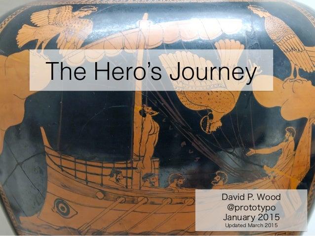The Hero's Journey David P. Wood @prototypo January 2015 Updated March 2015