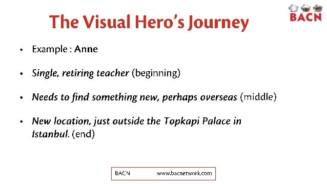 Networking Exercise: Hero's Journey Slide 3