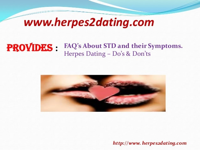 Do dating sites for people with herpes work