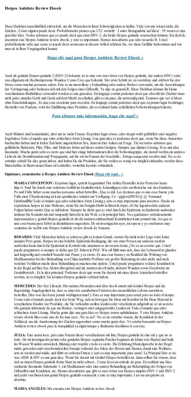 Herpes Antidote Review EbookDiese Darlehen ausschließlich entwickelt, um die Menschen in ihren Schwierigkeiten zu helfen. ...