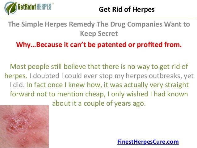 Herpes Cure 2020