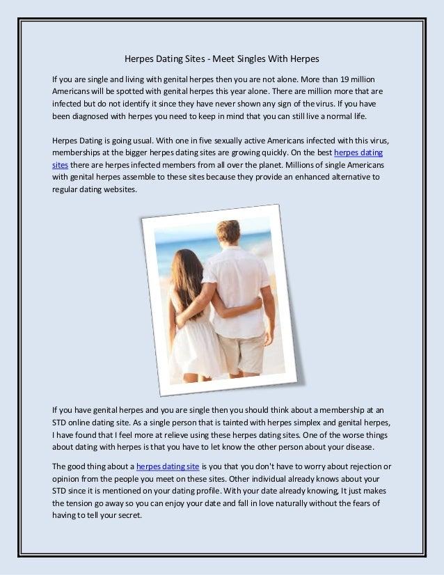 Dating voor herpes singles