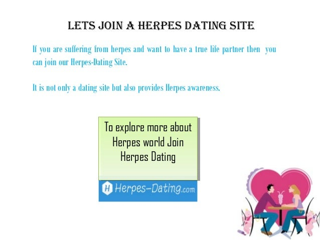 herpes and dating advice