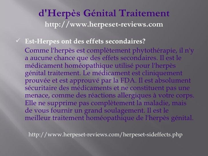 Herpes Genitale Trattamento