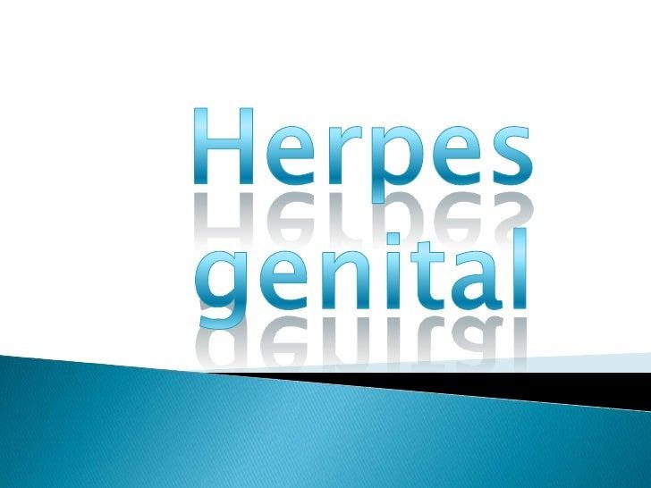 Herpes<br />genital<br />