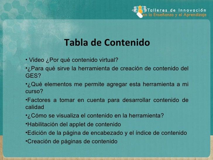 Herramienta de creación de contenido educativo Slide 2