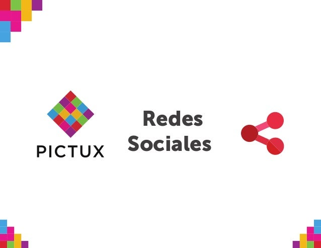 Propuesta de redes sociales Pictux Slide 2