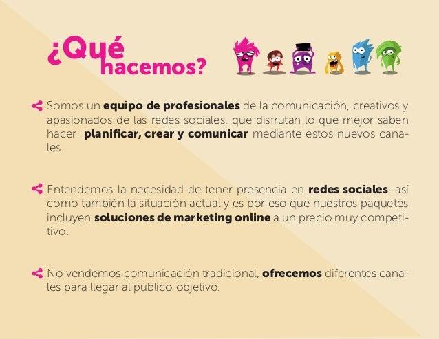 Propuesta de redes sociales Pictux Slide 3