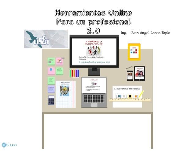 Herramientas online para un profesional 2.0