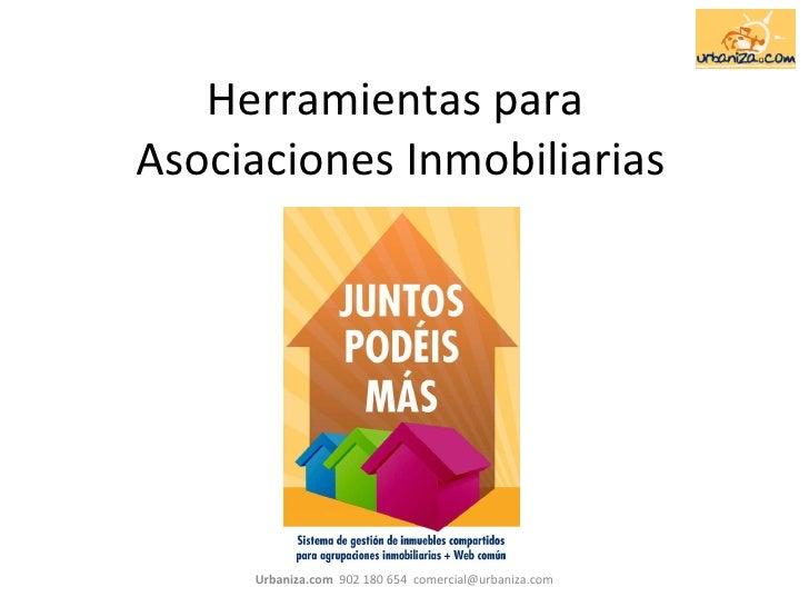 Herramientas para  Asociaciones Inmobiliarias