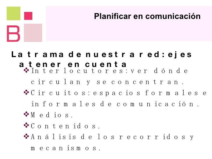 Herramientas de comunicación y difusión