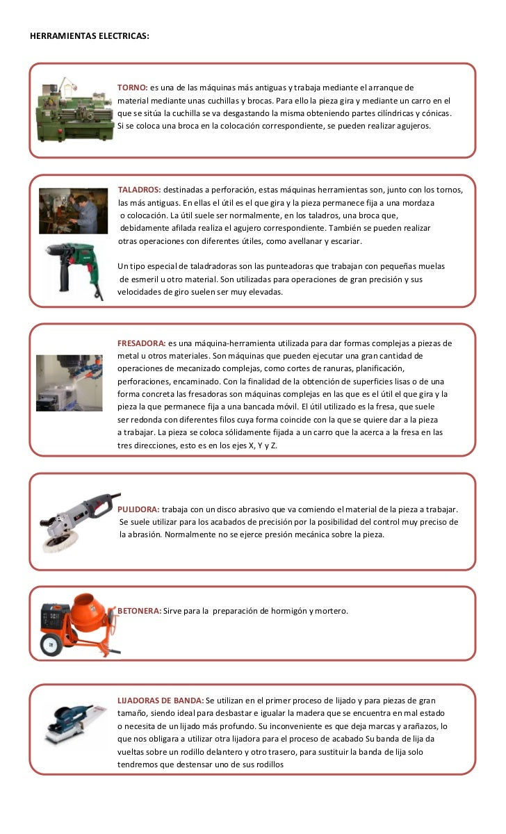 Herramientas menores de construcci n - Herramientas de carpinteria nombres ...